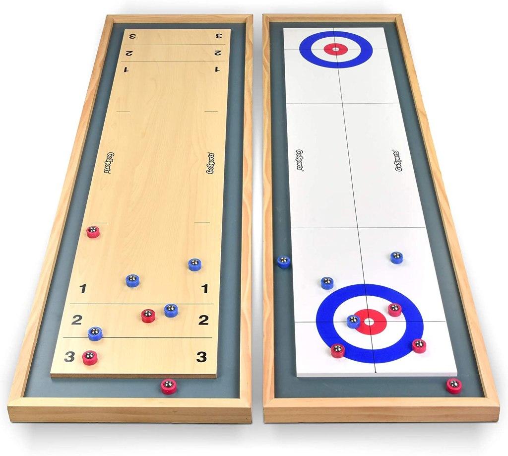 gosports shuffleboard curling table top