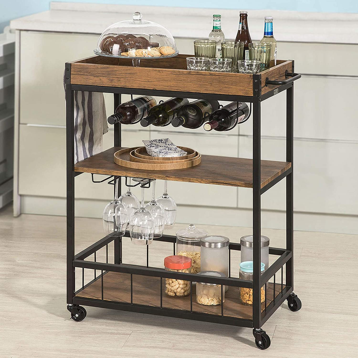 The Best Bar Carts 2020 Cocktail Carts For Dining Room Decor Rolling Stone