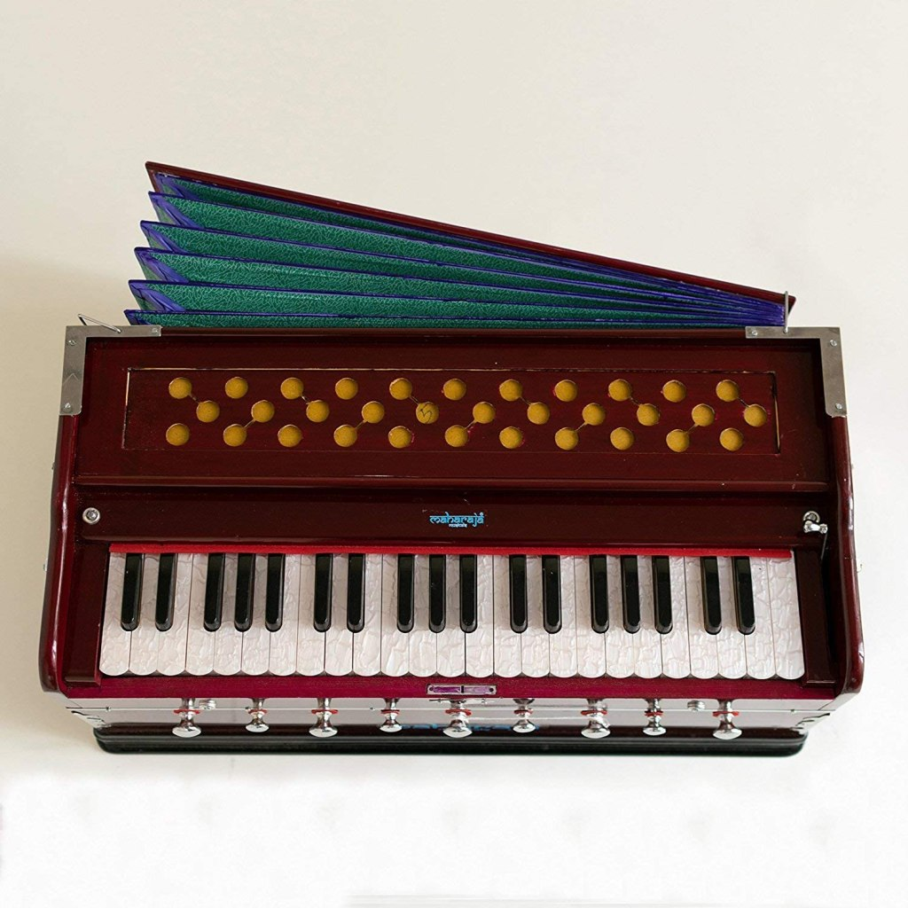 harmonium maharaja musicals instrument mahogany