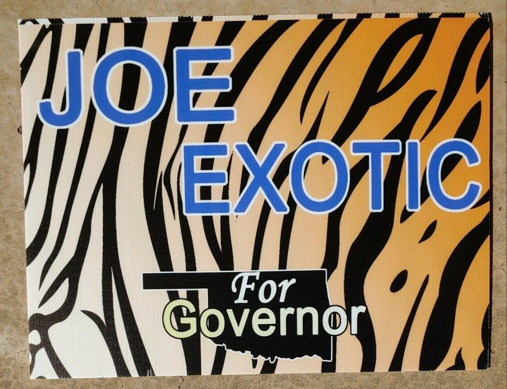 joe exotic governor oklahoma