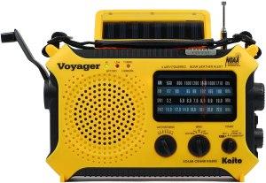 solar power wind up weather radio