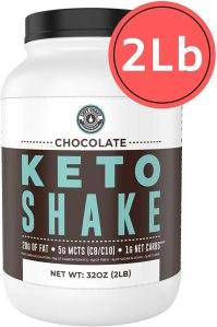 keto chocolate protein shake