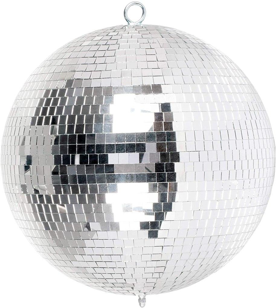 lighting mirror ball