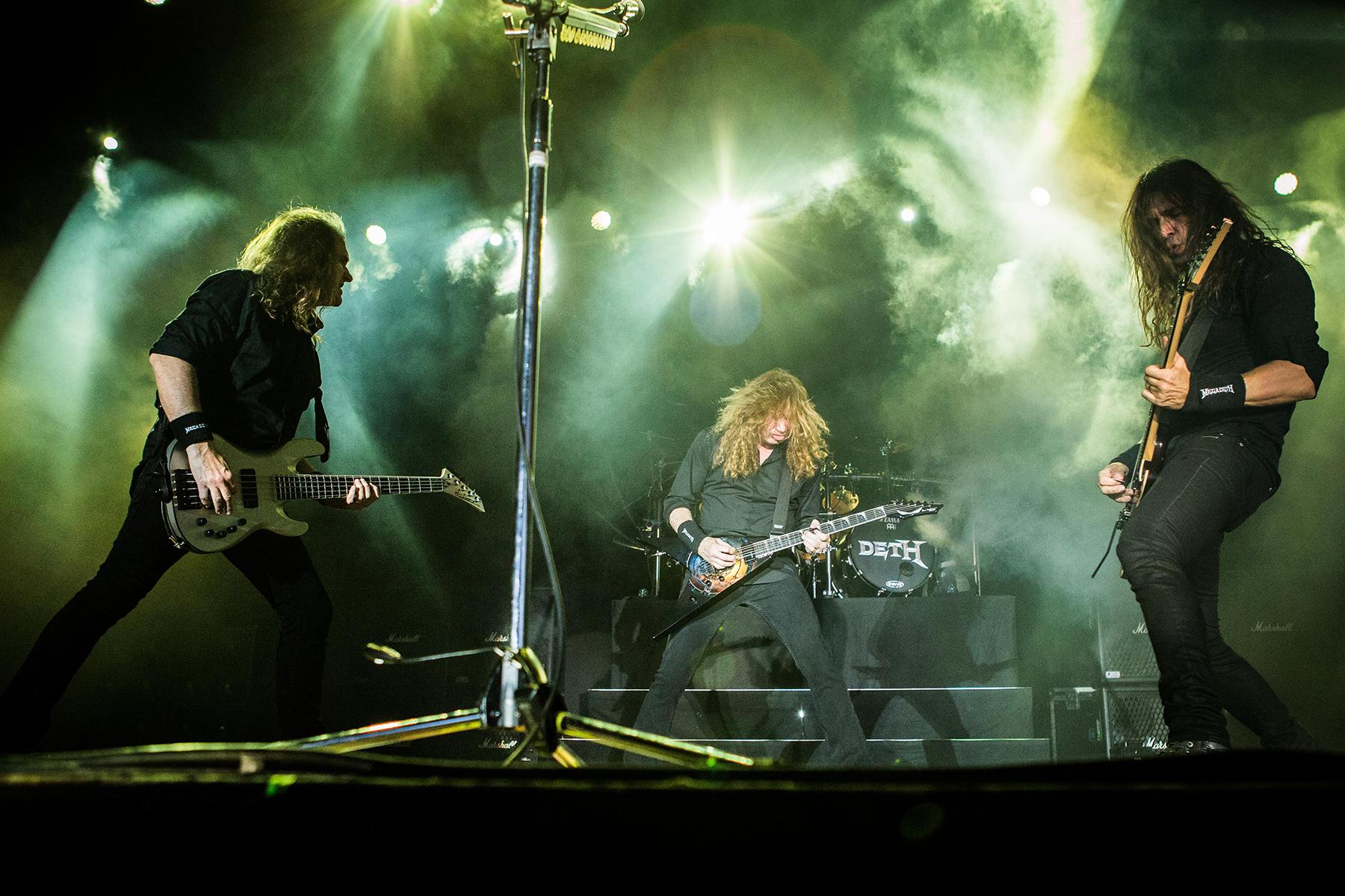 MegadethMegadeth in concert at Carroponte, Milan, Italy - 08 Aug 2017