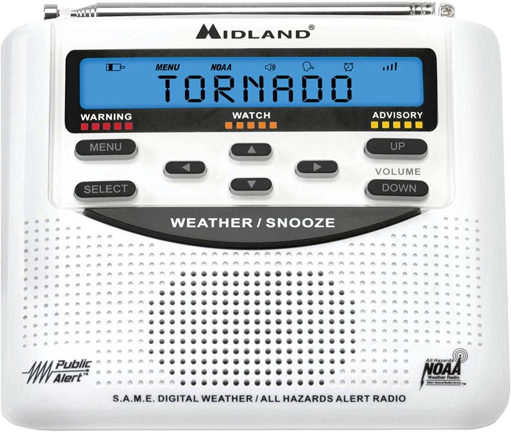 midland emergency weather alert radio