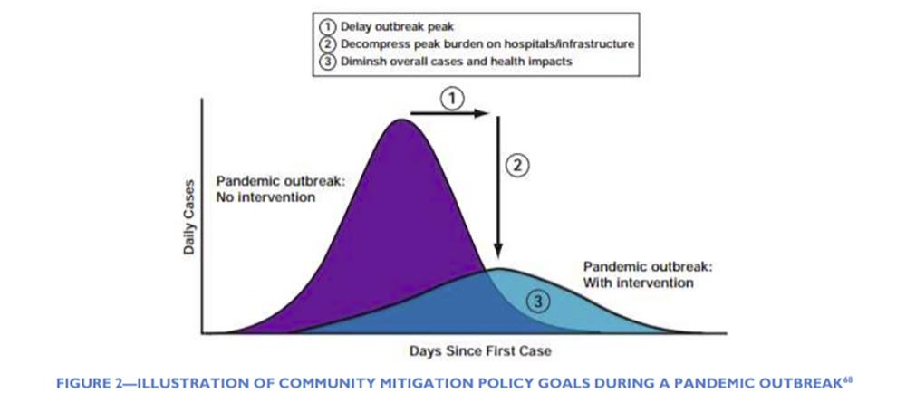 pandemic curve