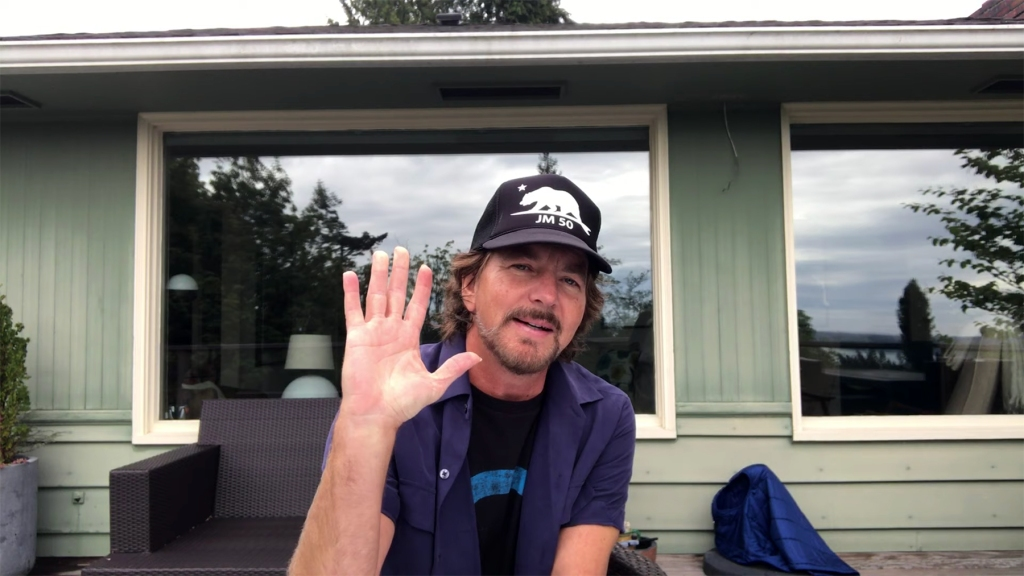 Eddie Vedder and Pearl Jam Accept All In Challenge for COVID-19 ...