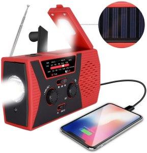 emergency hand crank radio regemoudal