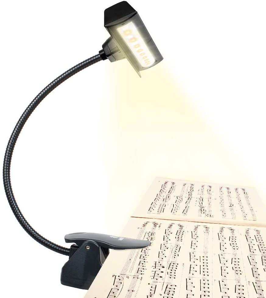 professional super bright music stand light