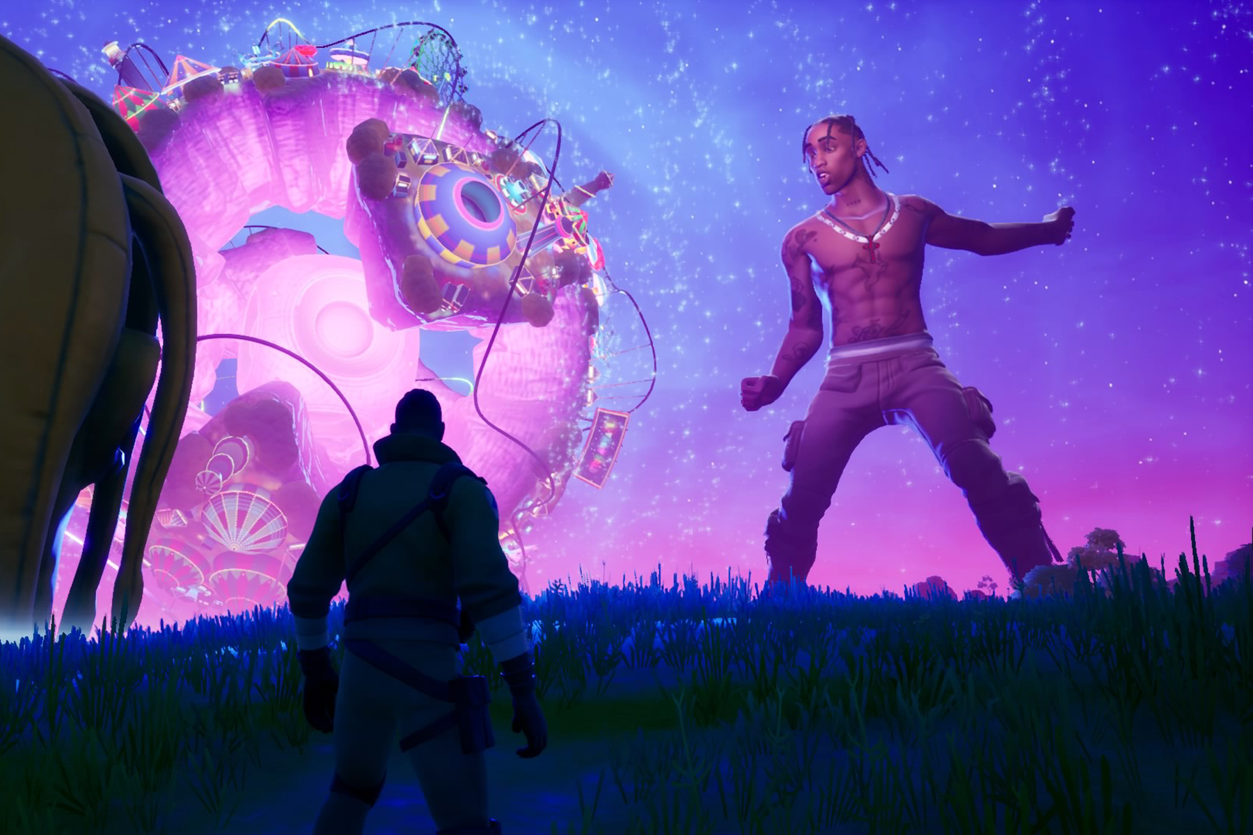 Travis Scott S Astronomical Fortnite Event Was Overwhelming