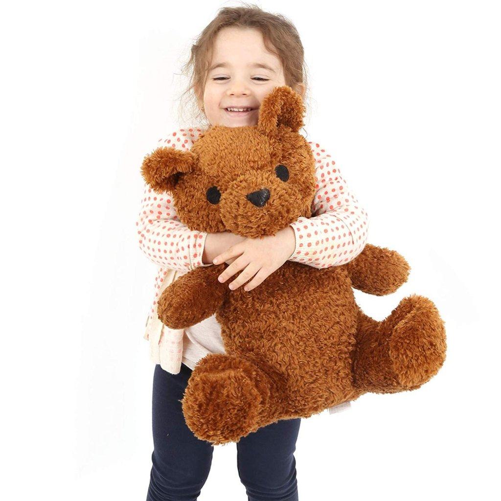 weighted teddy bear amazon