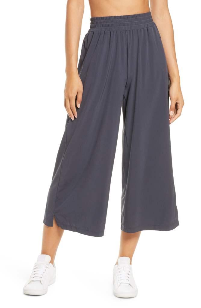 zella wide leg sweatpants