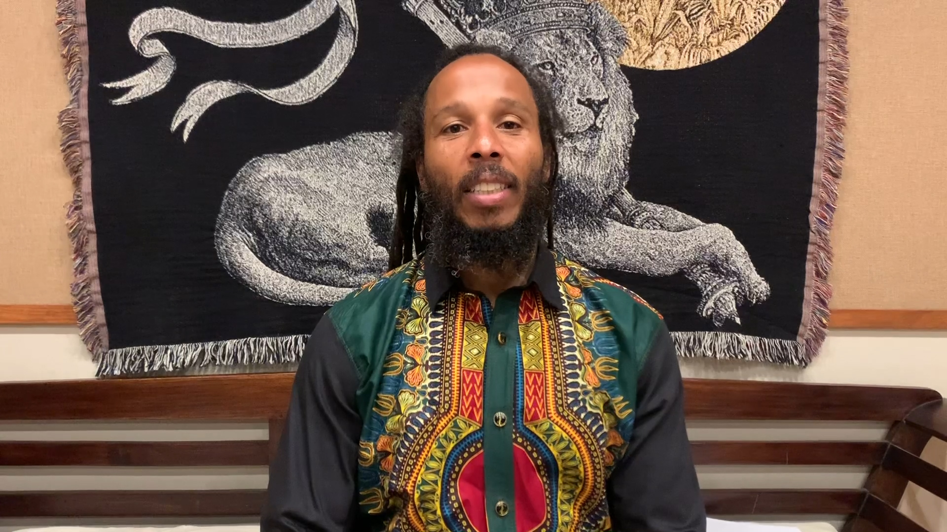 Ziggy Marley: 'Be Responsible Citizens of Planet Earth'