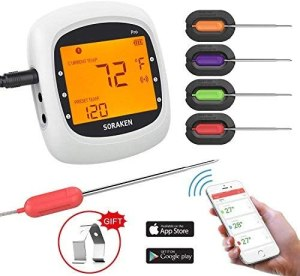 Meat thermometer wireless app