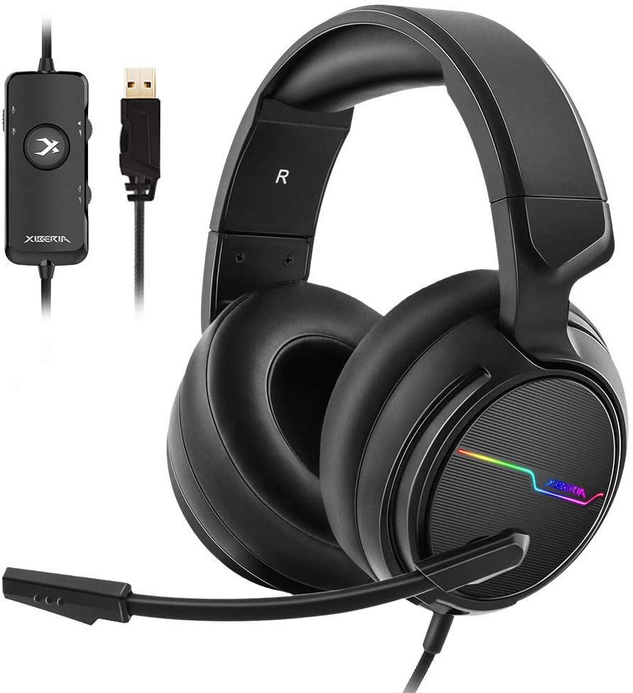 usb headphones for work gaming