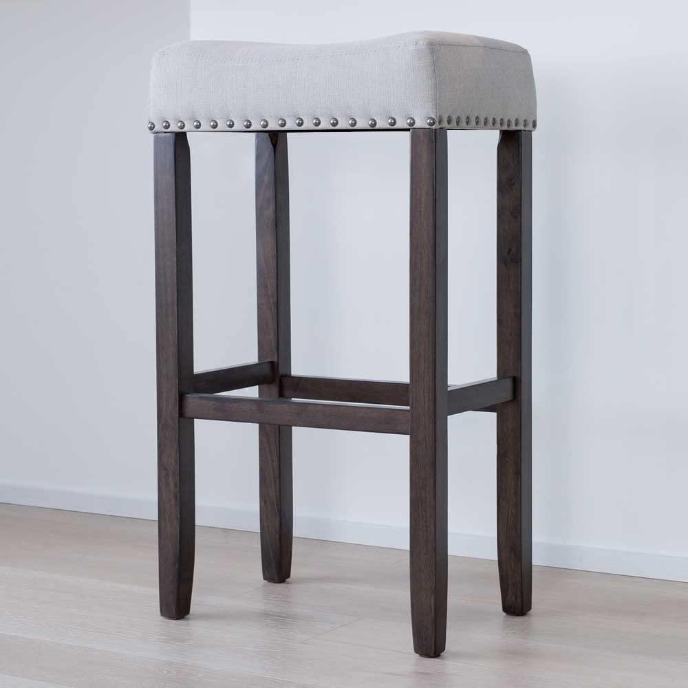 bar stool cloth wood