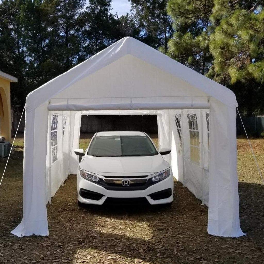 garage tent shelter