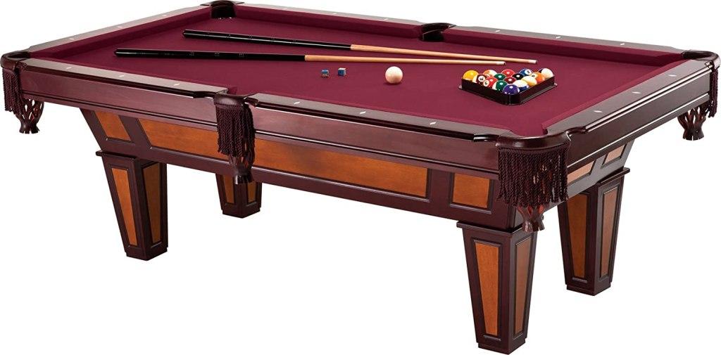 wood pool table 8 foot