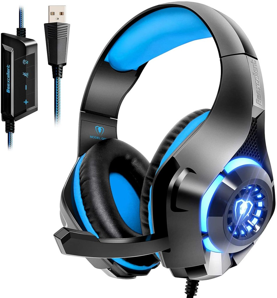gaming headphones for work home