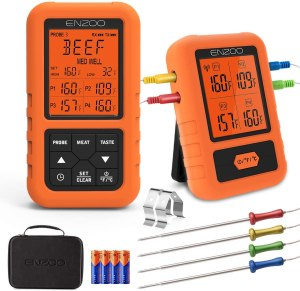 wireless meat thermometer remote