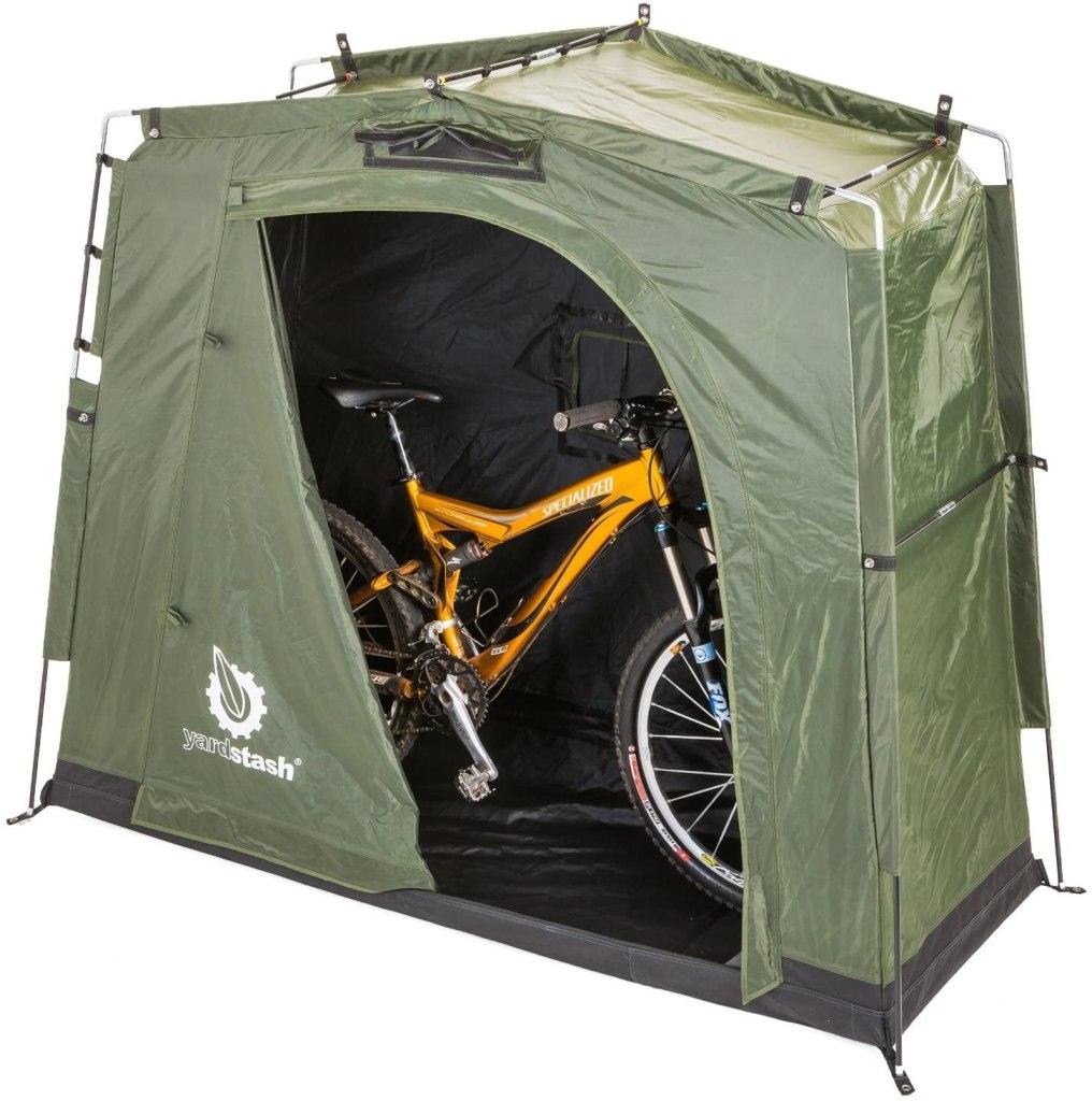 storage tent bikes