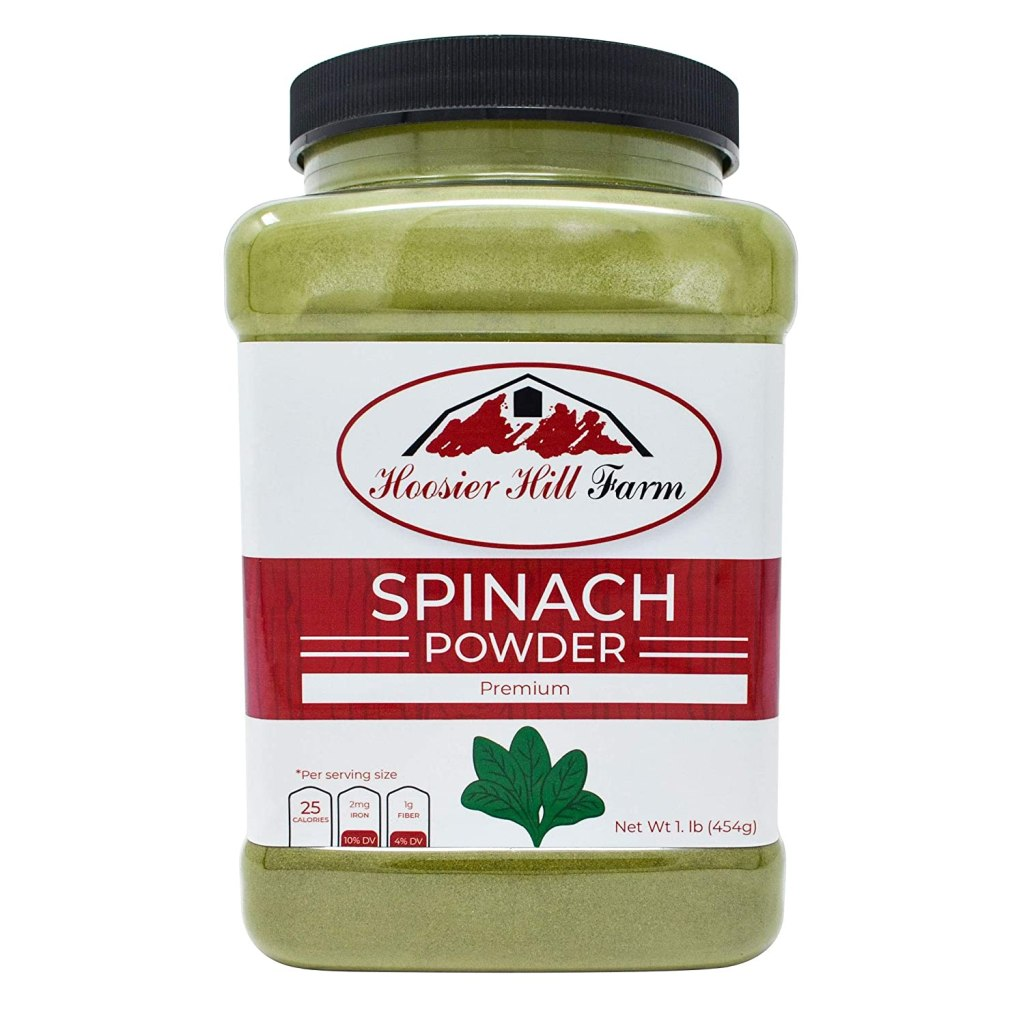 Spinach Powder Supplement hoosier hill
