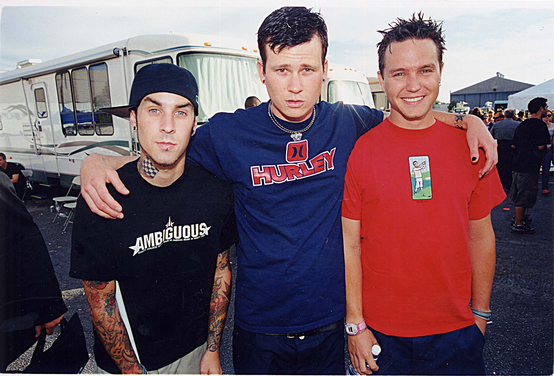 Blink 182 at the 1999 Teen Choice Awards in Los Angeles.