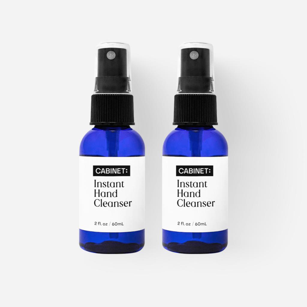 cabinet hand sanitizer