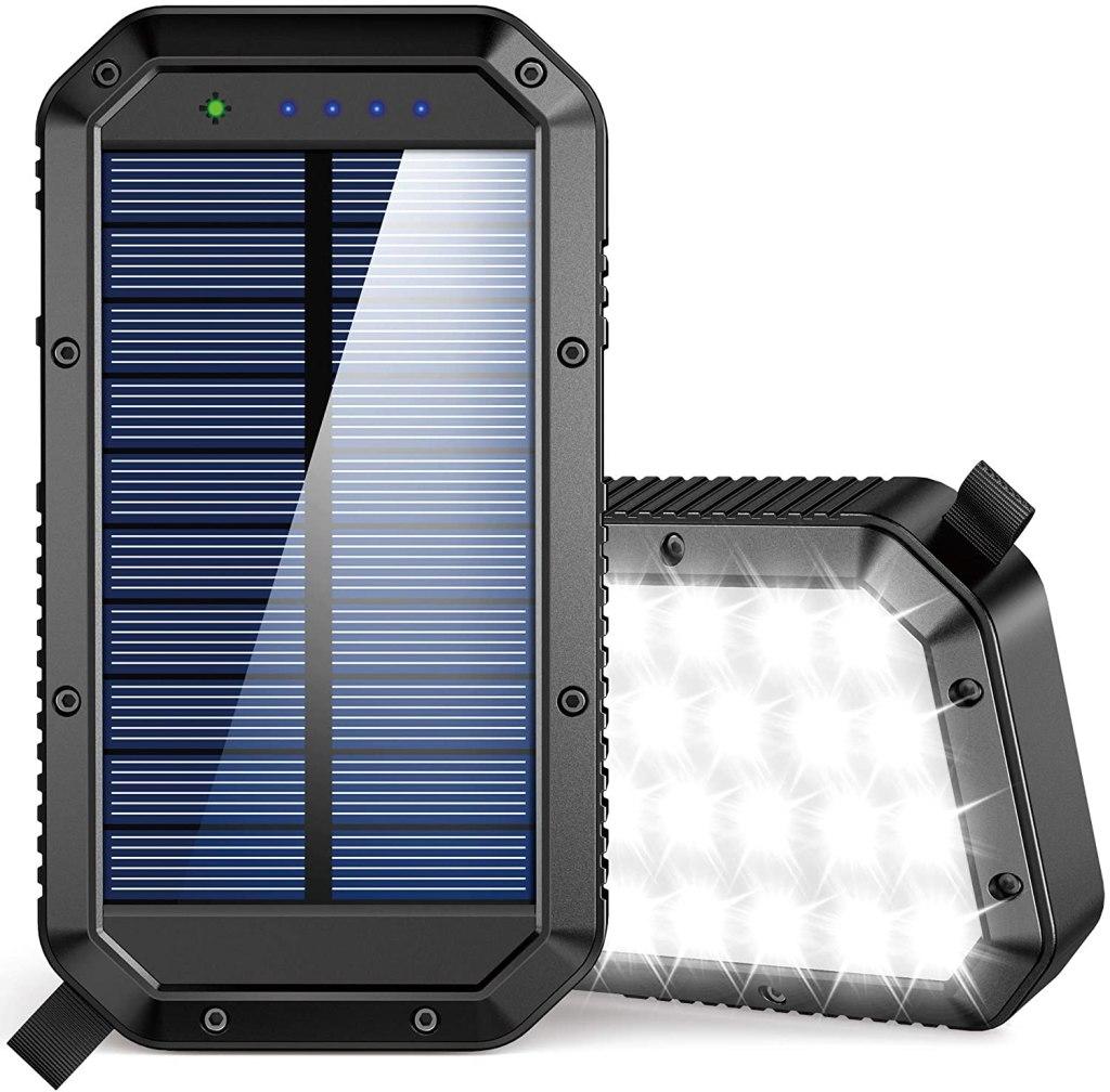 GoerTek Solar Charger Power Bank