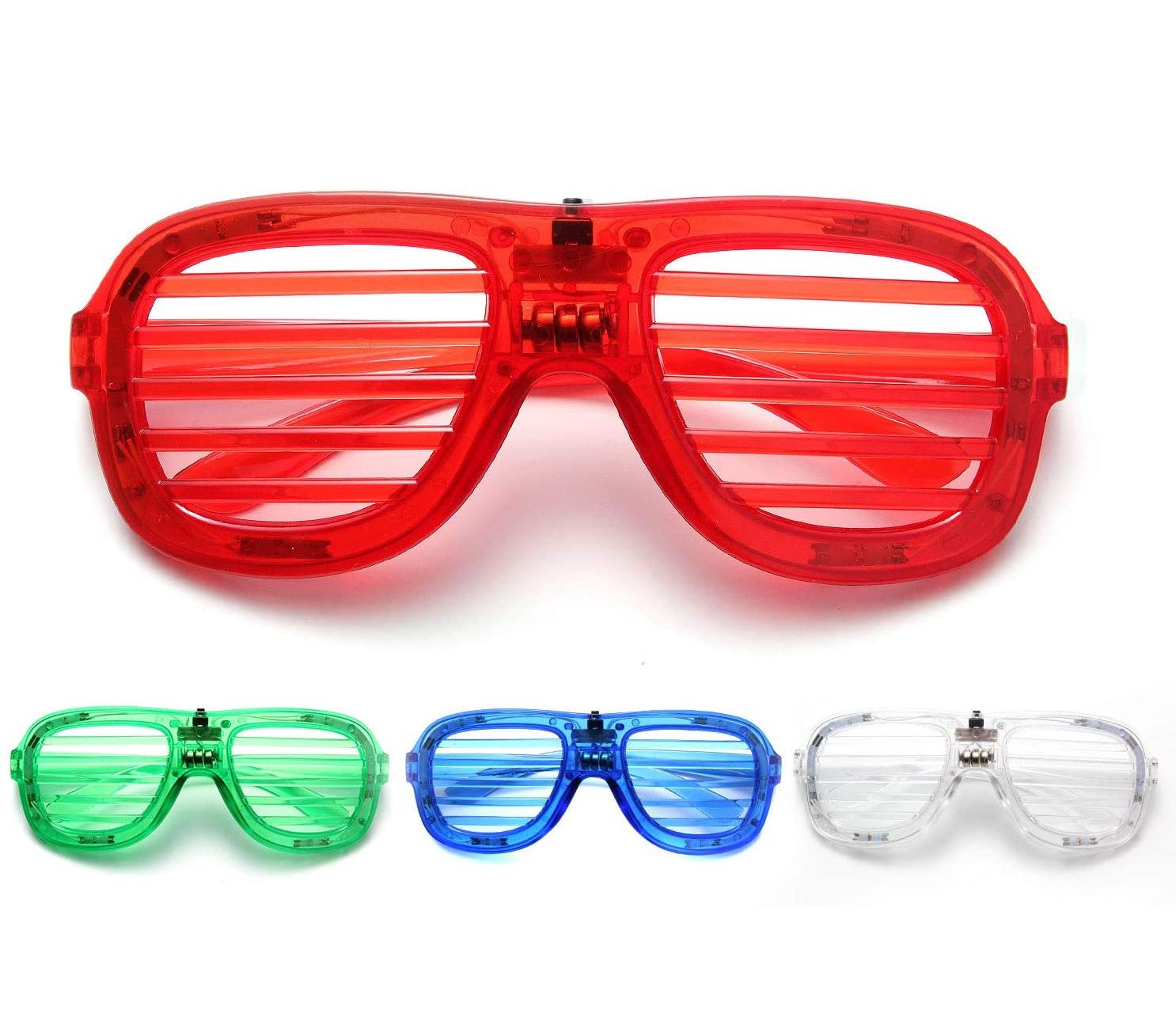 M.best Light Up Glow Glasses