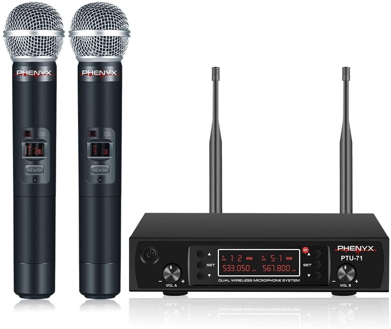 Phenyx Pro UHF Cordless Mic Set