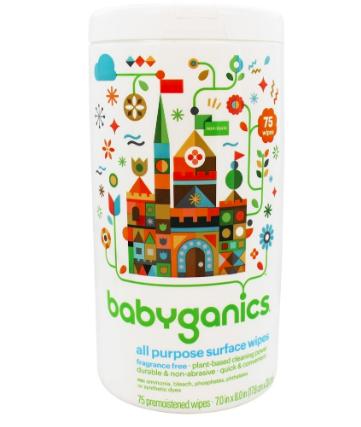 babyganics all purpose wipes