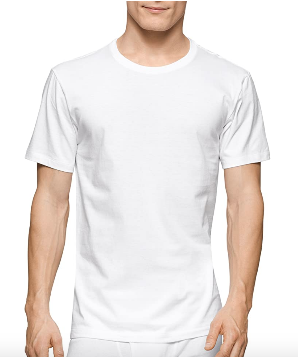 White t shirt men's calvin klein