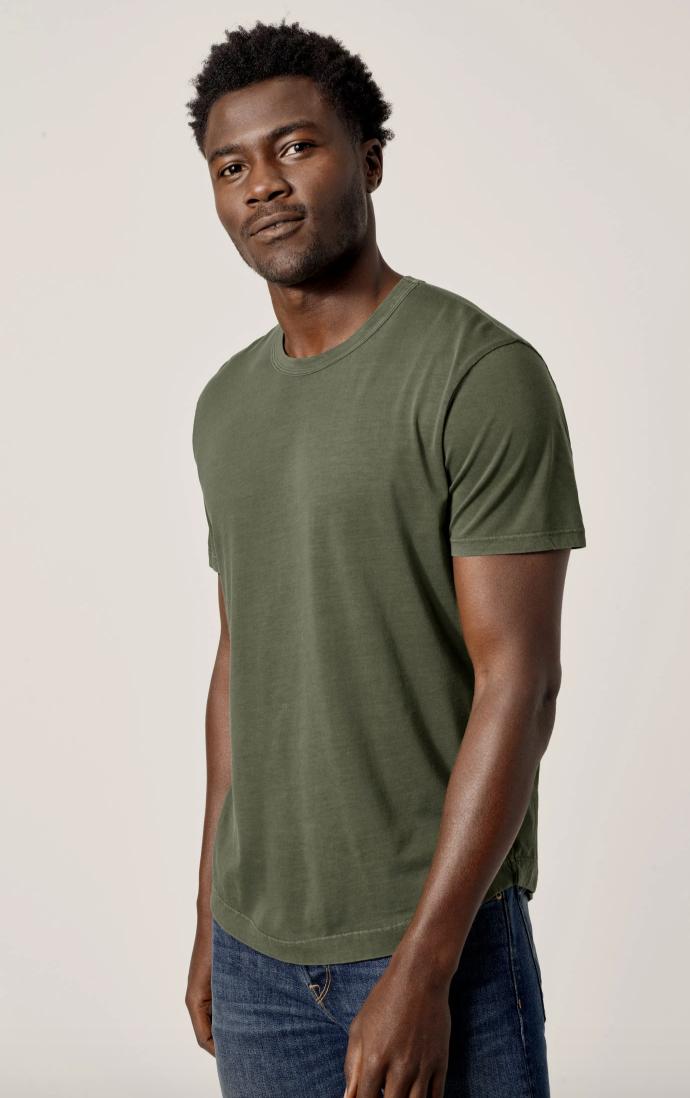 green t shirt mens soft