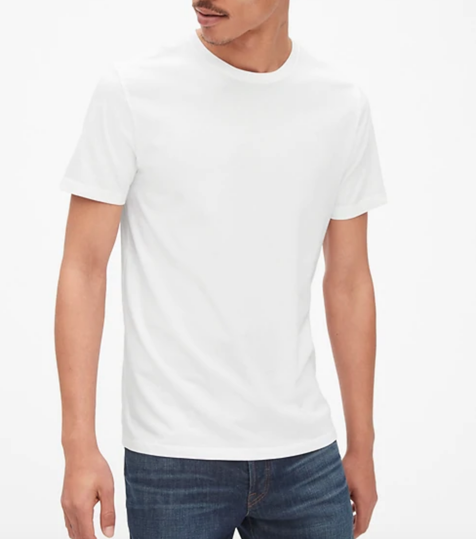 white t shirt classic GAP