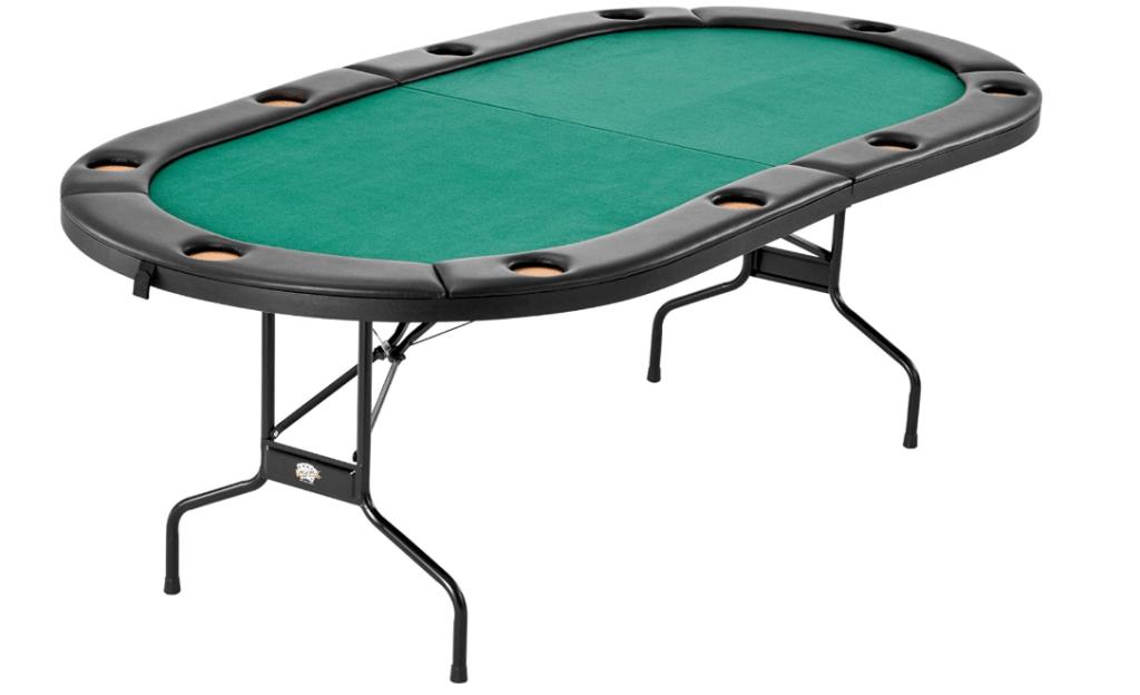Fat Cat Folding Texas Hold 'em Poker/Casino Game Table
