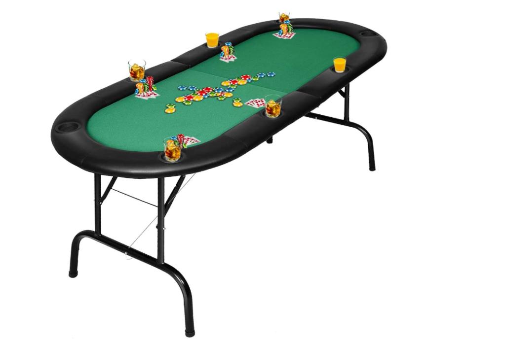 Giantex Folding Play Poker Table