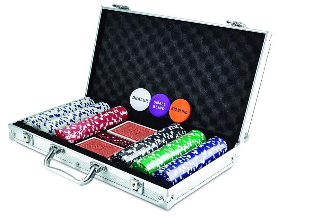 KOVOT 300 Chip Dice Style Poker Set