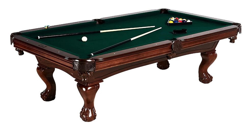 wood pool table fancy