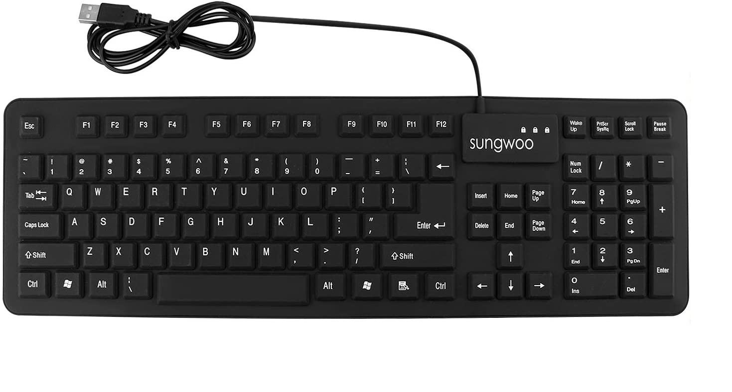 Sungwoo Foldable Silicon Keyboard