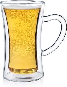dragon glassware beer stein doublewall