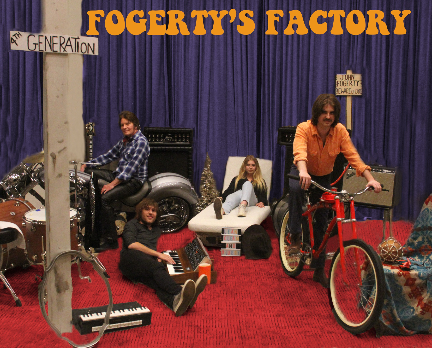 John Fogerty and Family Drop 'Fogerty's Factory' EP