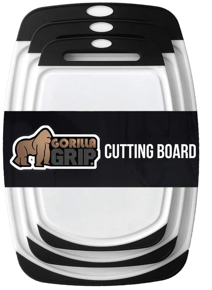 gorilla grip oversize 3pack cutting board