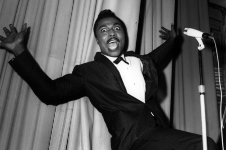 GERMANY - CIRCA 1960:  Photo of Dave KNIGHTS and Little RICHARD  (Photo by Siegfried Loch - K & K/Redferns)