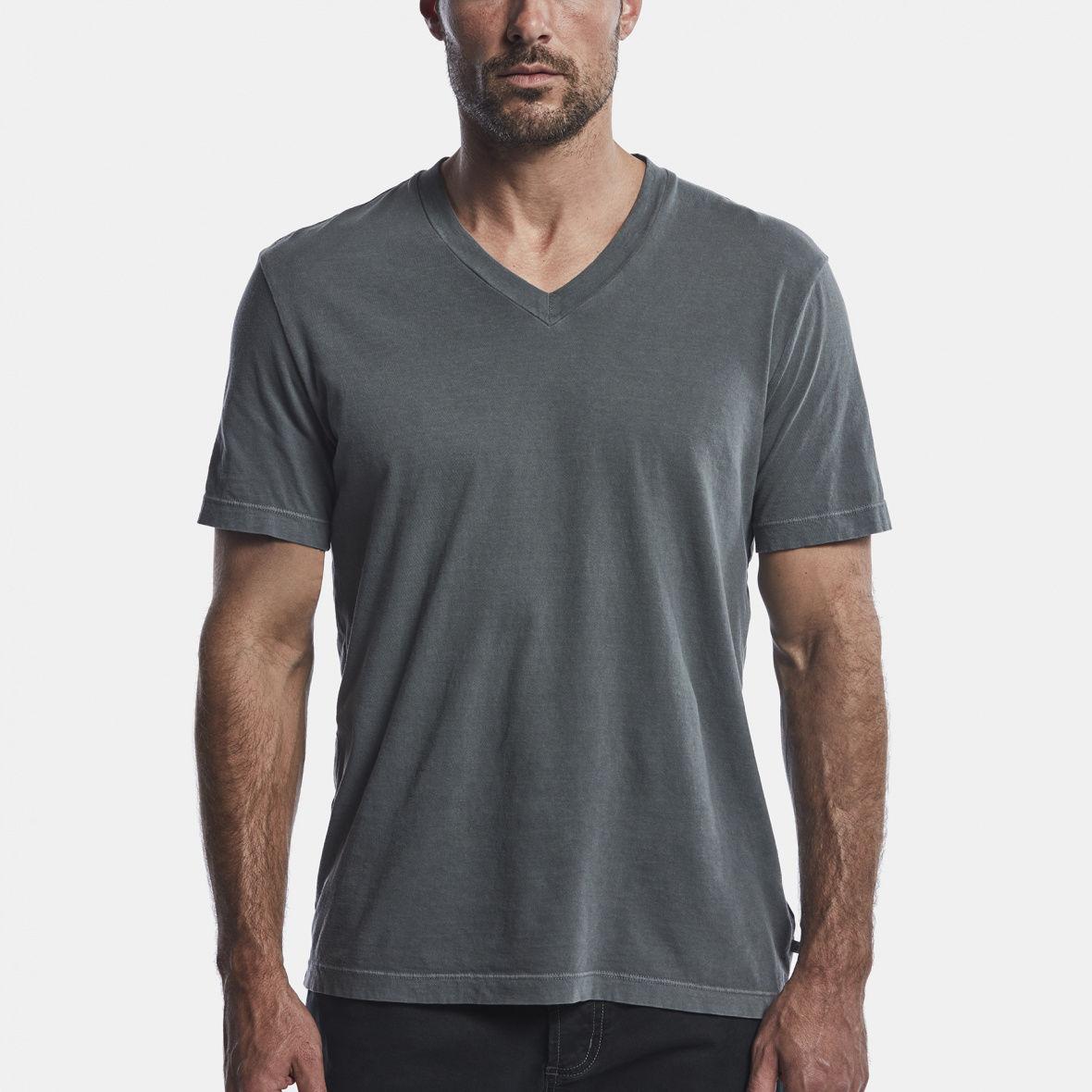 Grey v neck t shirt james perse