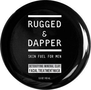 rugged detox face mask men