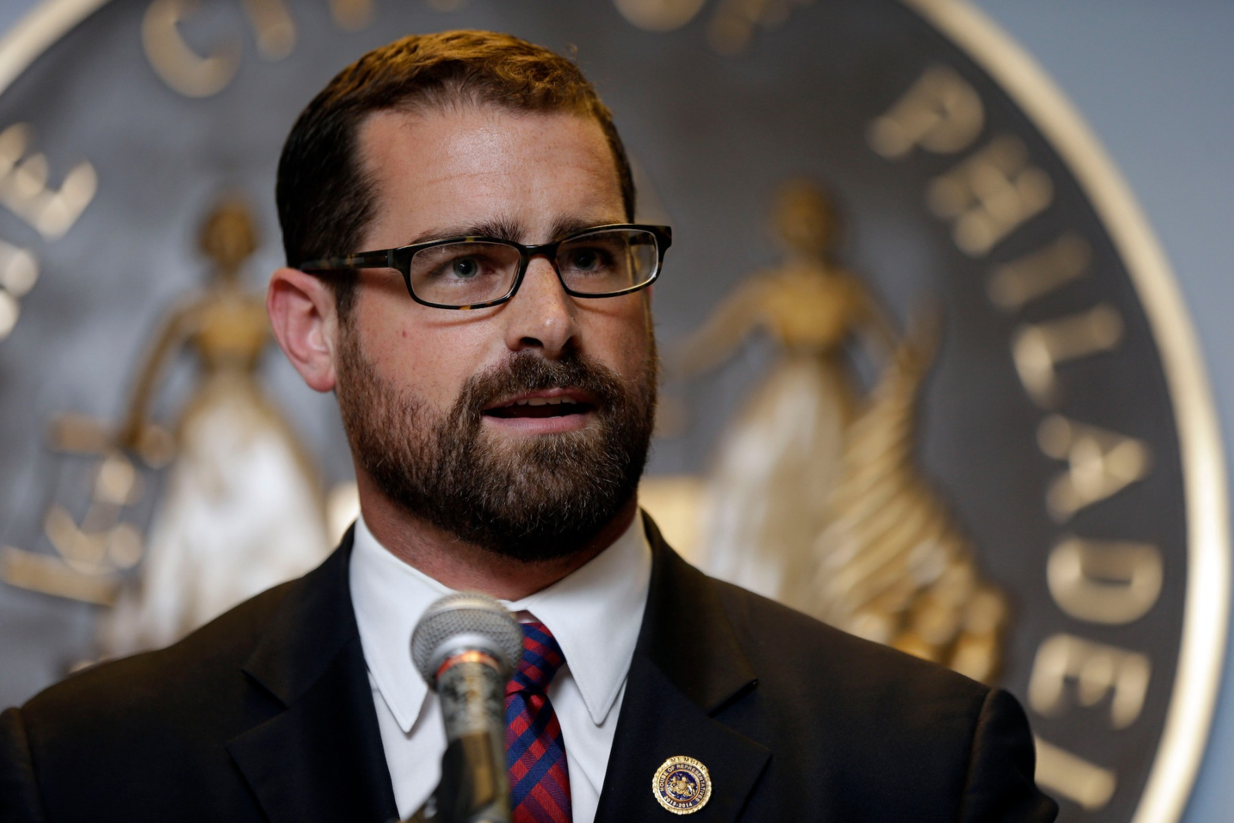 Brian Sims State Rep. Brian Sims D-Philadelphia speaks before Mayor Michael Nutter signs legislation that broadens equality protections for lesbian, gay, bisexual, and transgender people living and working in Philadelphia. Across the country, this week's landmark Supreme Court rulings on same-sex marriage have energized activists and politicians on both sides of the debateGay Marriage State Battlegrounds, Philadelphia, USA