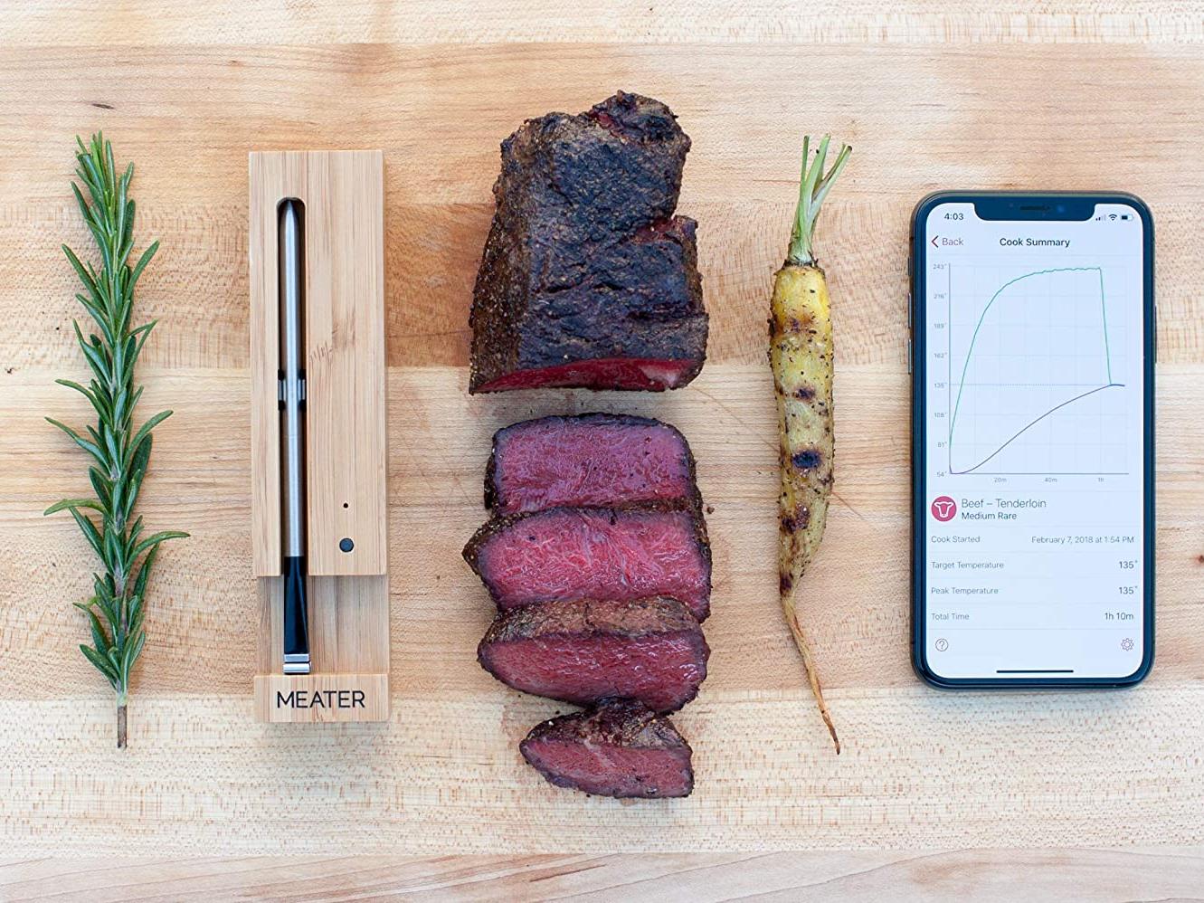 BBQ Thermometers Grillman BBQ MINI MEAT THERMOMETERS