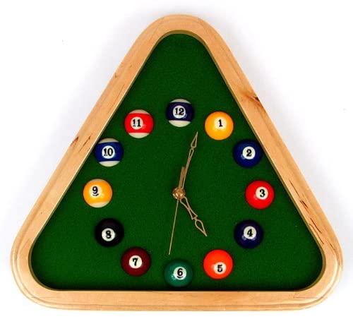 trademark pool rack clock