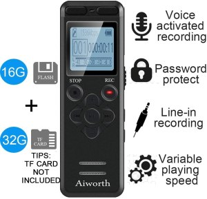 voice recorder lectures